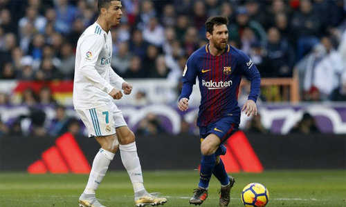 Lionel Messi áp đảo Ronaldo trong cuộc đua đường trường La Liga