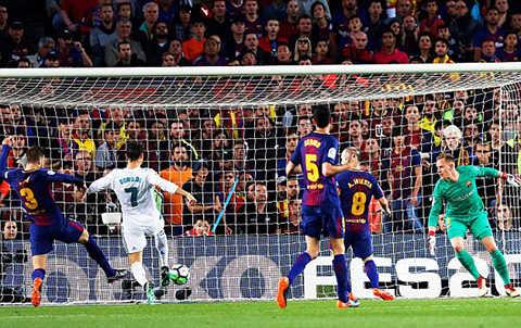 Messi & Ronaldo cùng nổ súng, Real và Barca hòa nhau đầy kịch tính