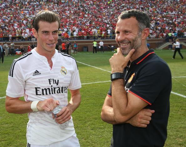 Bale và Ryan Giggs
