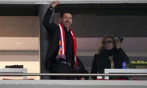 Simeone tự hào khi Atletico Madrid hạ Arsenal để có mặt trong trận Chung kết Europa League