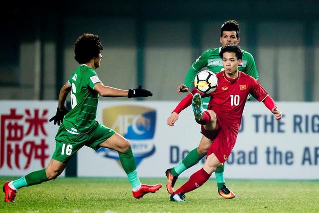 Bóng đá Việt Nam sẽ tái ngộ bóng đá Iraq tại Asian Cup 2019