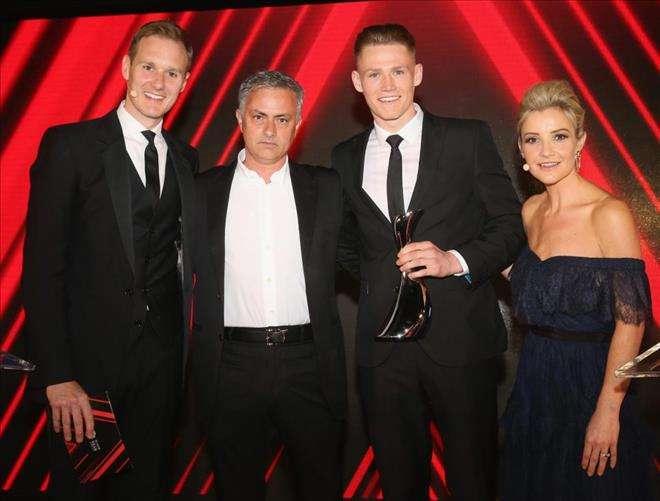 Mourinho đã chọn Scott McTominay là cầu thủ MU xuất sắc nhất mùa