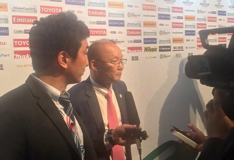 HLV Park Hang Seo tự tin vào cơ hội của tuyển Việt Nam