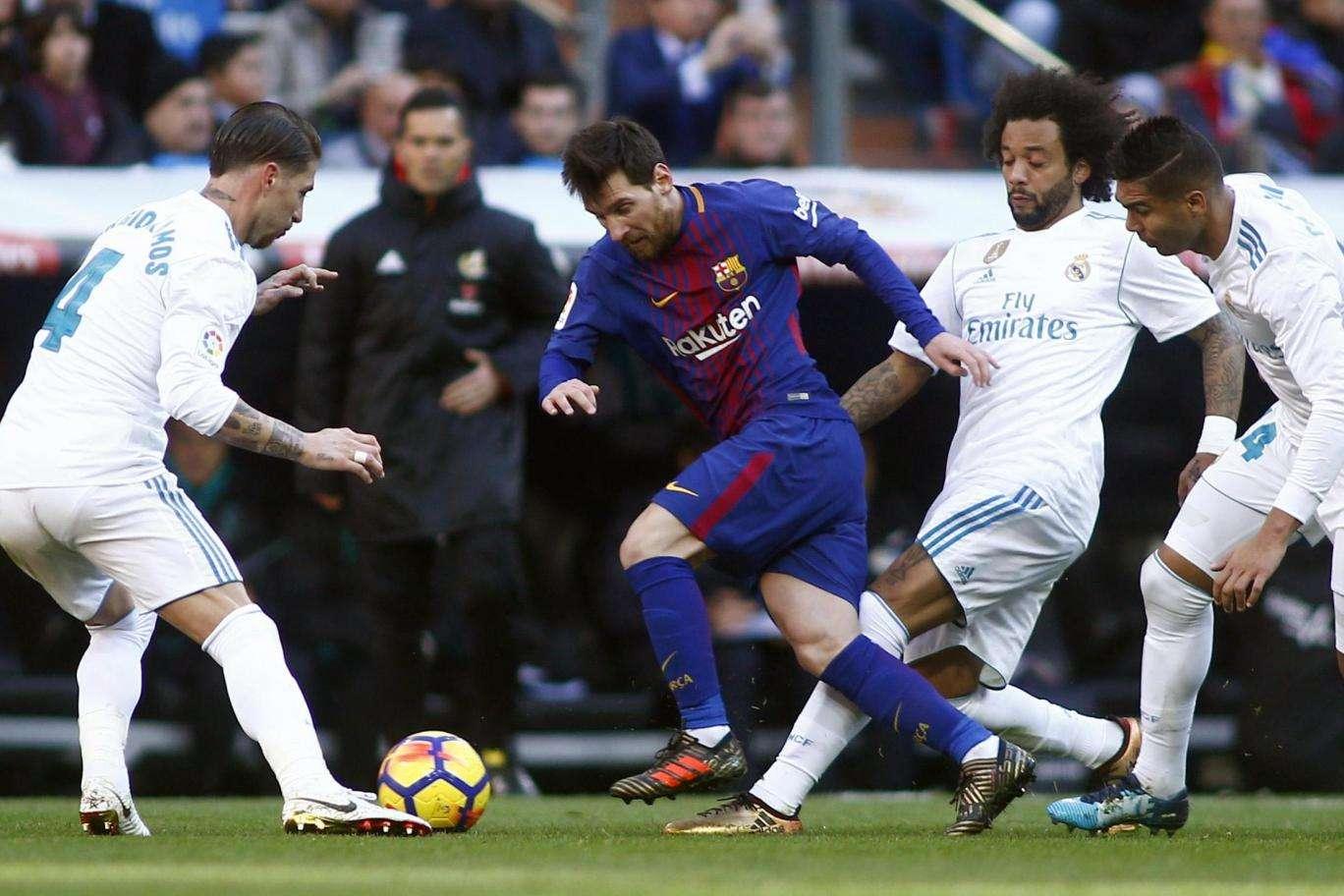 Sự thù địch giữa Barca vs Real không hề giảm dù cho trận Siêu Kinh Điển lần này không mang nhiều ý nghĩa