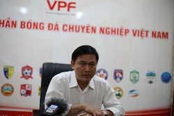 """Bầu Tú lên tiếng: """"VPF không liên quan việc ông Trần Mạnh Hùng ứng cử vào VFF"""""""