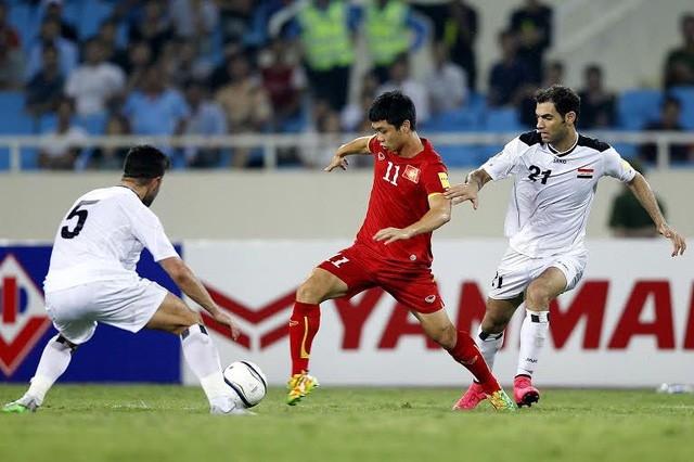 Đội tuyển Việt Nam từng 1 hòa, 1 thua khi gặp Iraq ở vòng loại Asian Cup 2019
