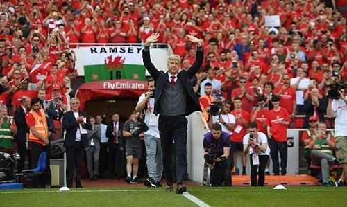 Những trải lòng của Wenger trong buổi họp báo cuối cùng ở sân Emirates