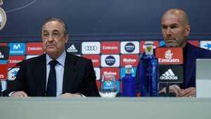Zidane từ chức HLV trưởng của Real Madrid chỉ sau vài ngày làm nên vinh quang ở Champions League