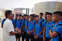 HLV Hoàng Anh Tuấn tự tin sẽ có chiến thắng trước Thái Lan