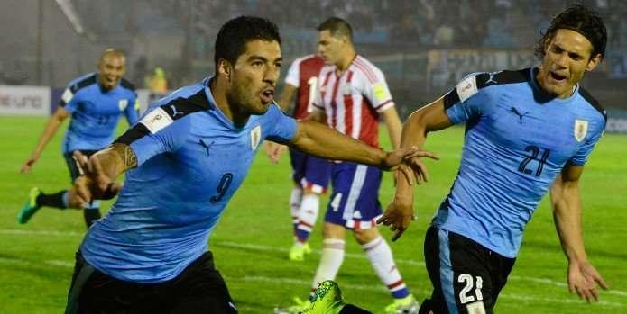 Bộ đôi Suarez - Cavani sẽ là đầu tàu của ĐT Uruguay