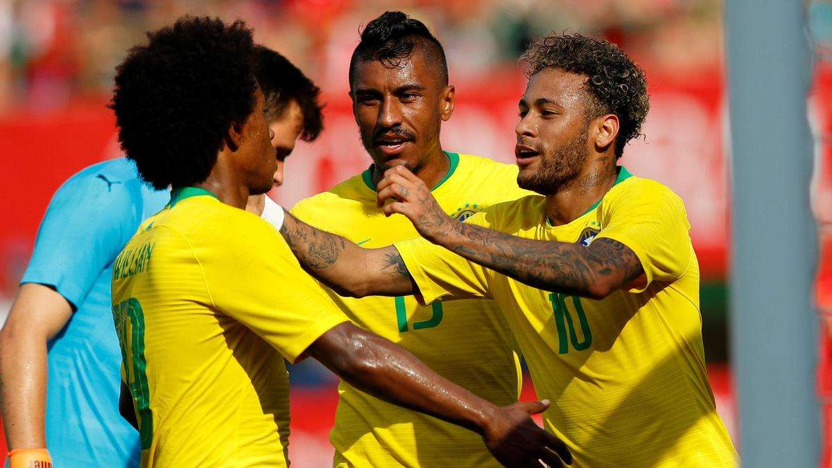 Brazil đang có phong độ rất tốt
