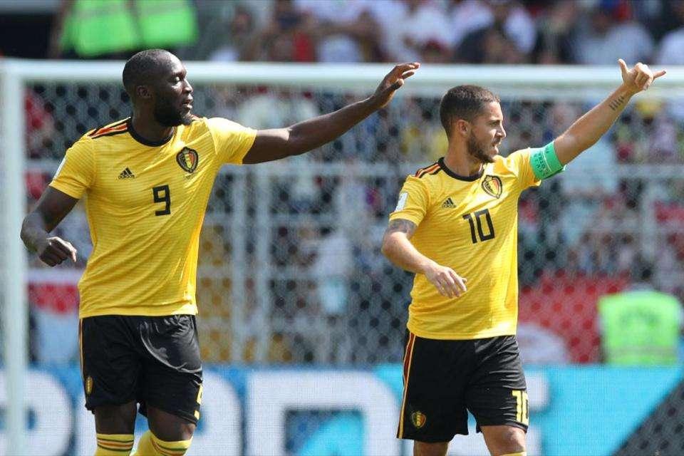 Lukaku và Hazard chơi rất hay trước Tunisia