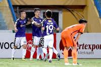 Hà Nội FC lấy lại hình ảnh tự tin khi đánh bại SHB Đà Nẵng