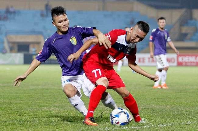 Cuộc đọ sức giữa Hà Nội và Than Quảng Ninh là tâm điểm vòng đấu