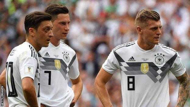 Joachim Low thẳng thắn nhìn nhận thất bại của tuyển Đức trước Mexico trong trận mở màn World Cup