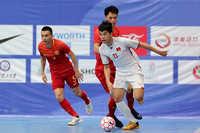 Tuyển futsal Việt Nam có chiến thắng tưng bừng trước đội chủ nhà Trung Quốc