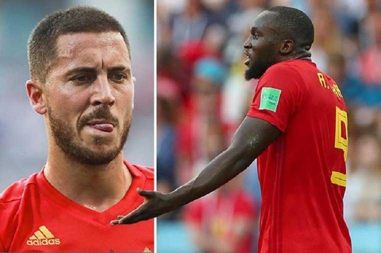 """Hazard mắng Lukaku một trận khiến số 9 """"nổi điên"""""""