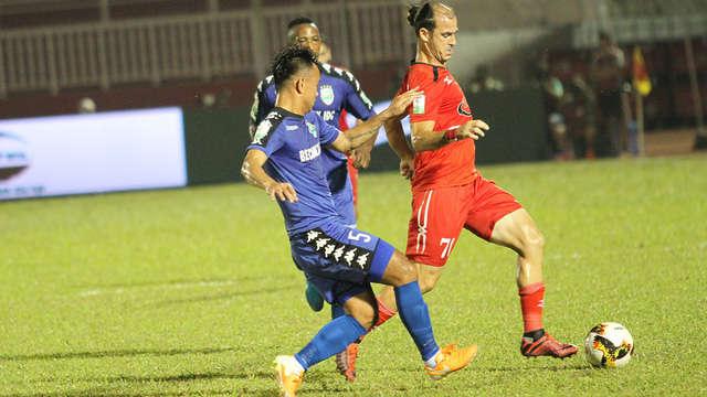 Huỳnh Kesley Alves tái xuất tại V-League trong màu áo CLB TPHCM