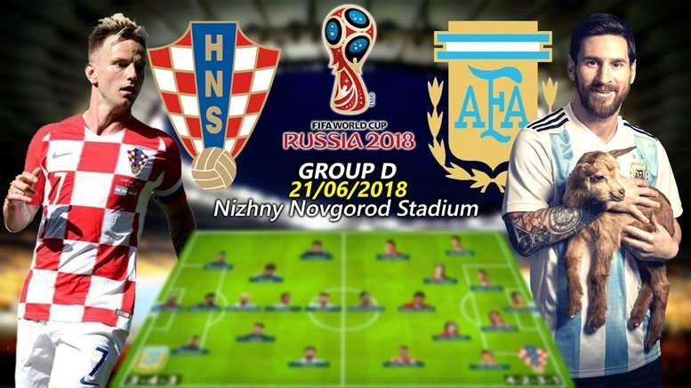 Croatia là đối thủ khó chơi với Argentina