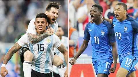 Lịch thi đấu, lịch phát sóng trực tiếp bóng đá hôm nay 30/06/2018