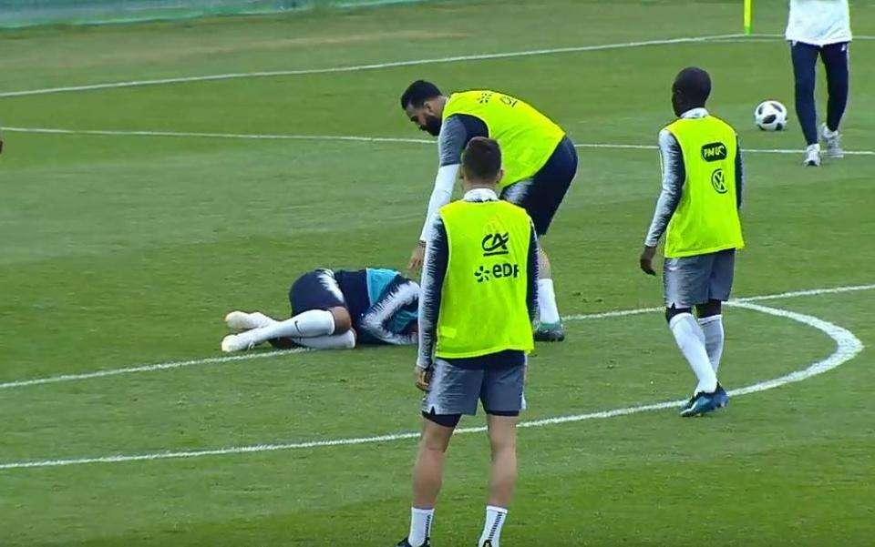 Rami khiến Mabppe dính chấn thương