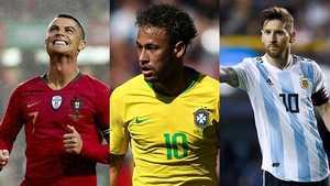 Ronaldo, Neymar và Messi, mỗi người một cảnh ngộ ở World Cup 2018