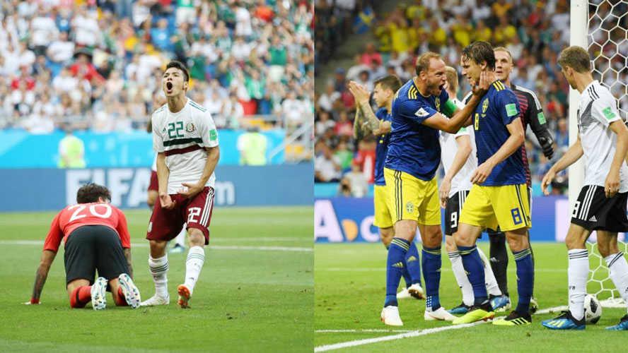 Thụy Điển gặp quá nhiều bất lợi trước Mexico tối nay