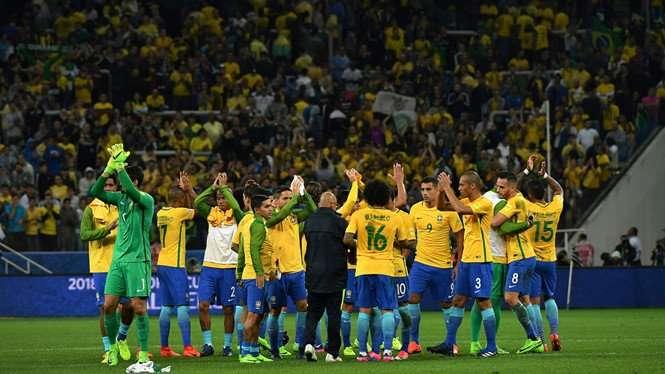 Brazil là một trong những ứng cử viên vô địch nặng ký ở World Cup 2018