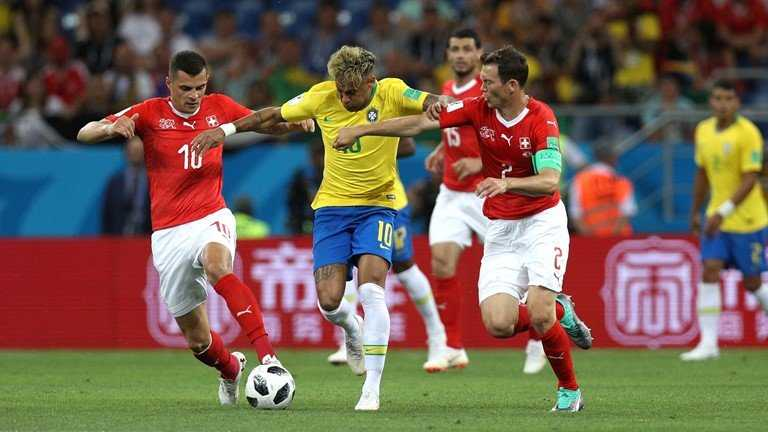 Neymar chơi cá nhân, Brazil gây thất vọng trước Thụy Sỹ