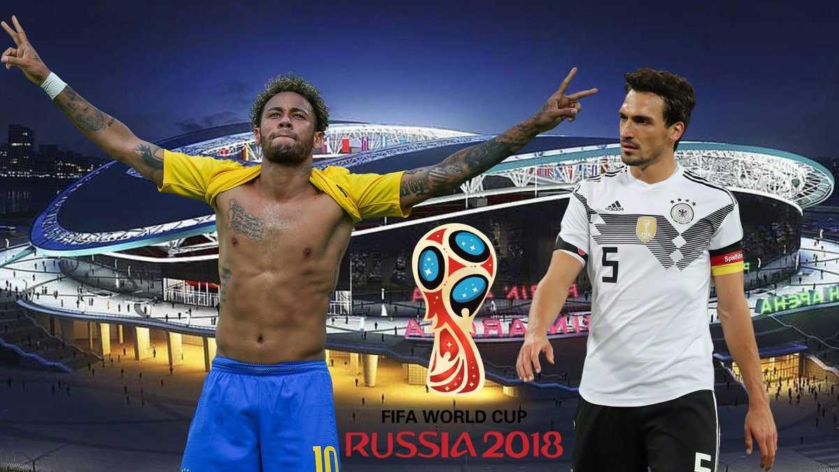 Brazil vs Đức nhiều khả năng sẽ gặp nhau ở trận chung kết World Cup 2018
