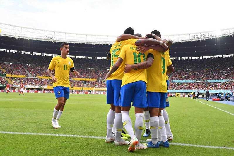 Hạ Áo 3-0, Brazil tràn đầy tự tin sang Nga dự World Cup 2018