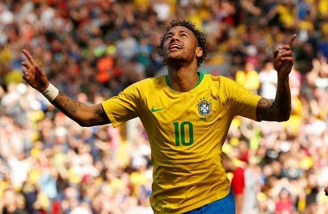 Neymar cũng là ngôi sao đáng xem nhất trên đất Nga mùa Hè này