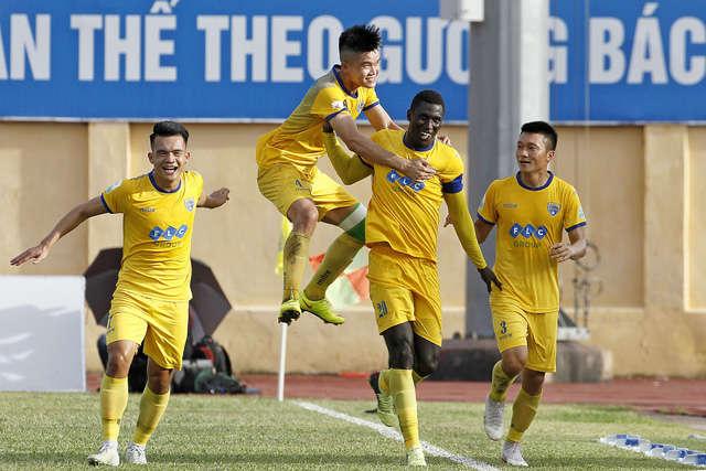 Niềm vui chiến thắng của CLB Thanh Hóa