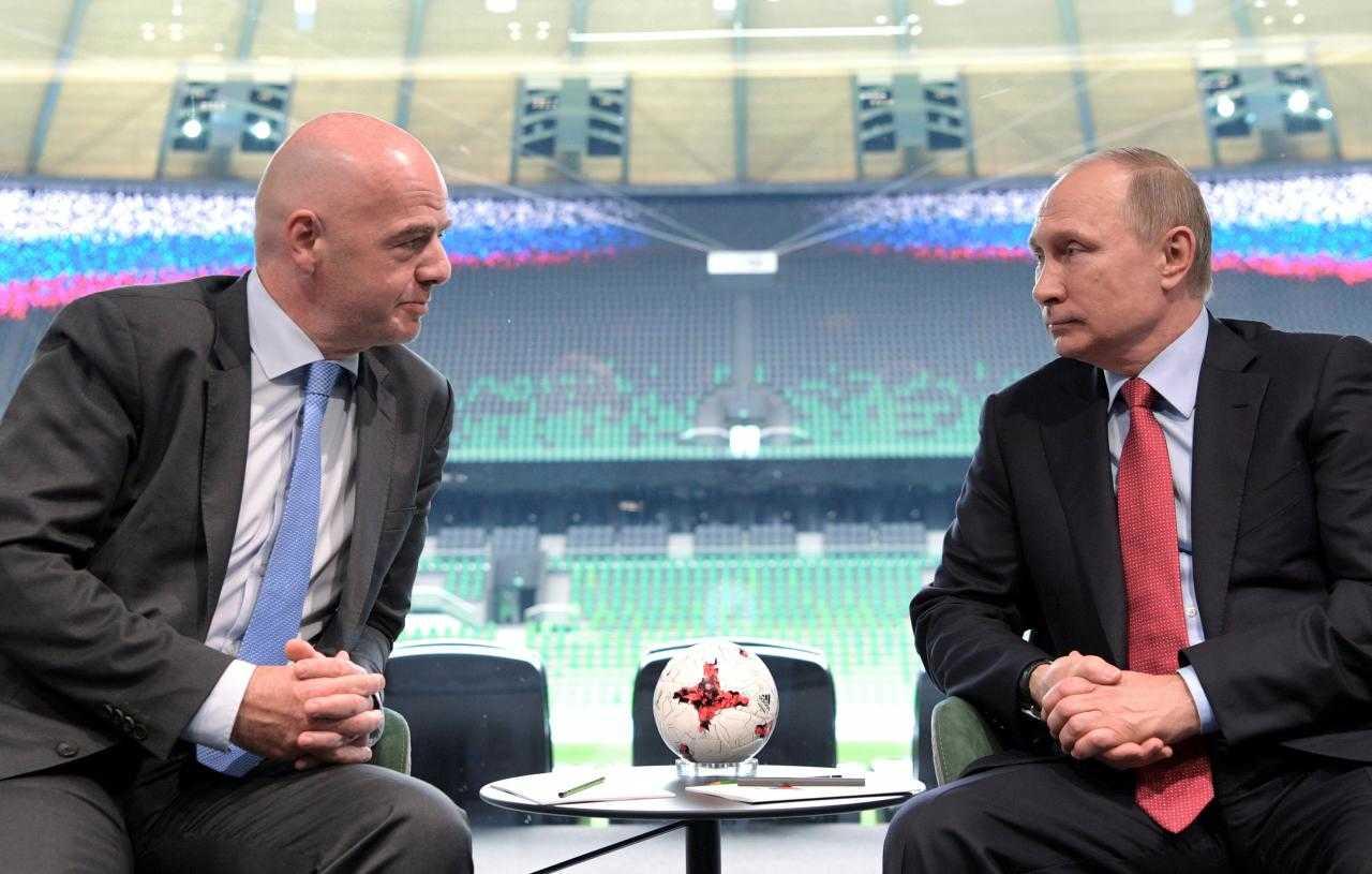Tổng thống Putin tin Tây Ban Nha sẽ vô địch World Cup 2018