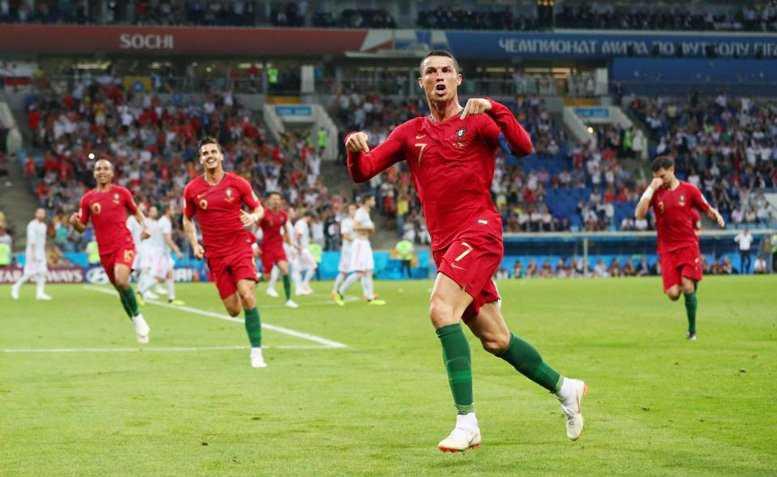Ronaldo đã thể hiện những giá trị của một siêu sao trong trận đấu với Tây Ban Nha