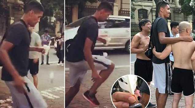 Chris Smalling ghé thăm Hà Nội sau khi không được tuyển Anh triệu tập cho World Cup 2018