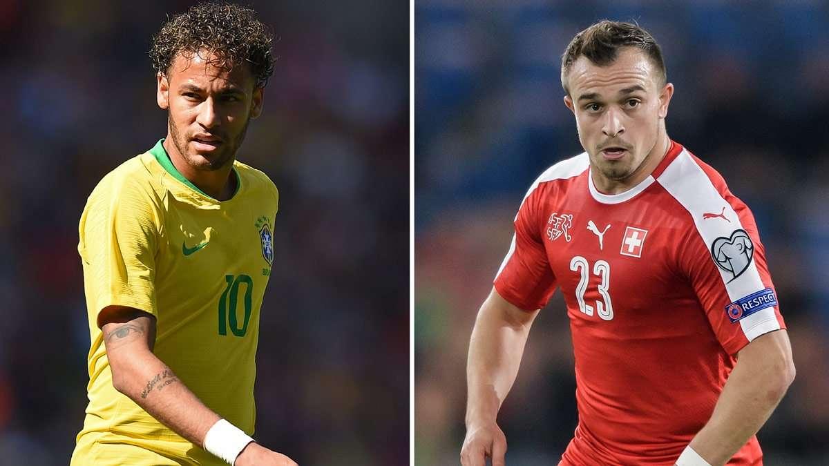 Neymar là tâm điểm khi Brazil gặp Thụy Sĩ