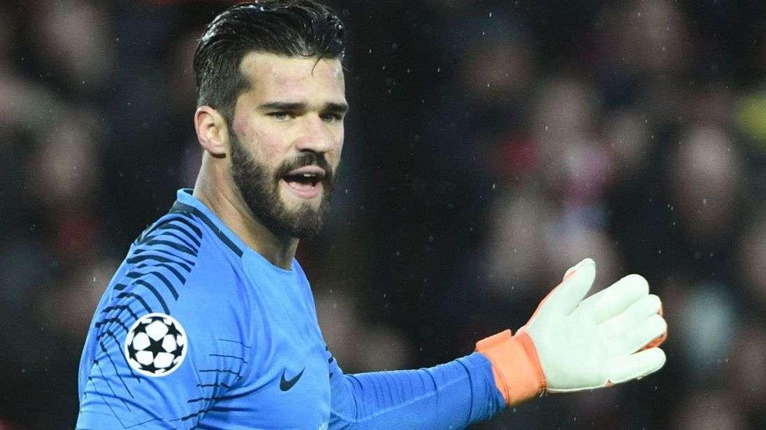 Real sẽ tăng tốc để có thể sở hữu được thủ môn Allisson của Roma