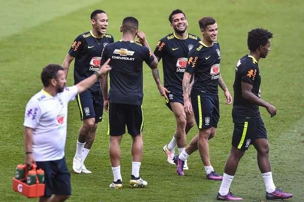 Brazil có một tinh thần thoải mái chuẩn bị cho World Cup 2018