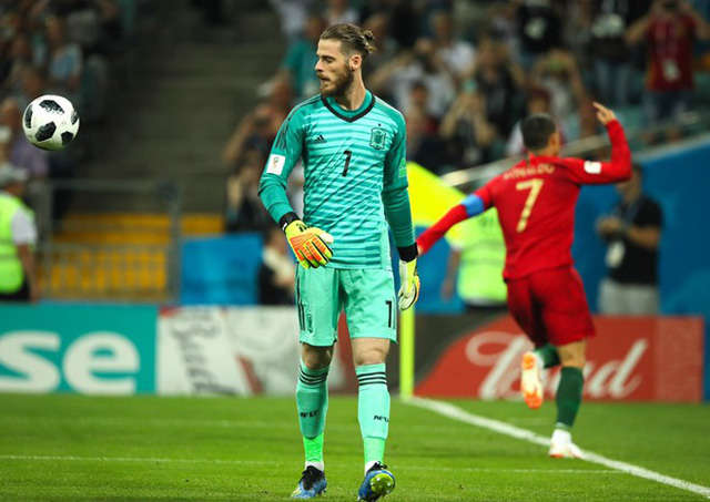 De Gea vẫn là thủ môn số 1 của Tây Ban Nha