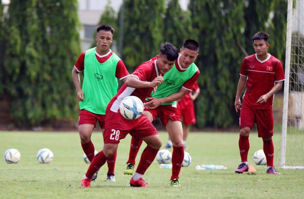 U19 Việt Nam sẽ có 3 trận đấu giao hữu với các đội bóng Trung Quốc