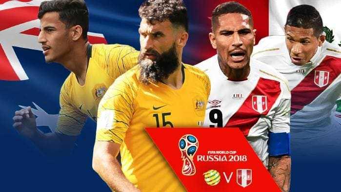 Úc quyết tâm lấy trọn 3 điểm trước Peru