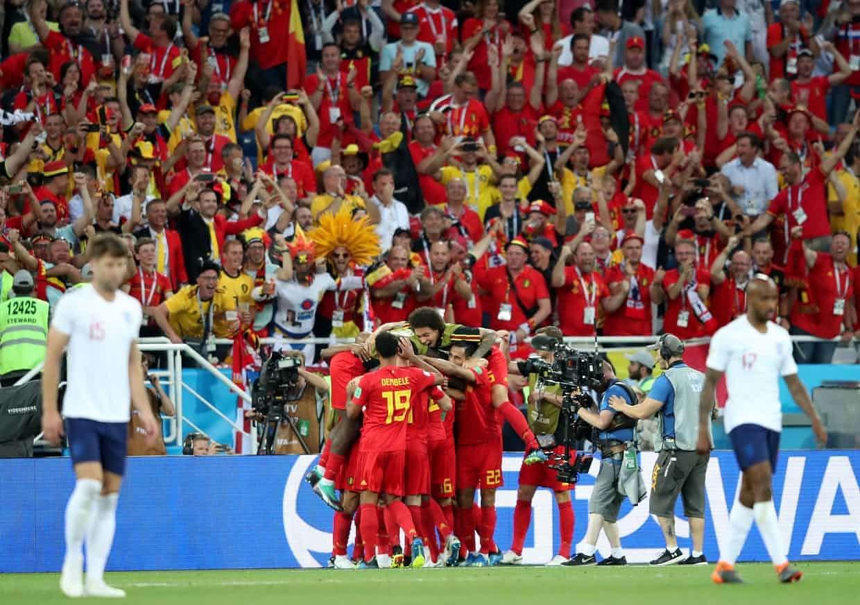 Bỉ vượt qua Anh và có thành tích bất bại