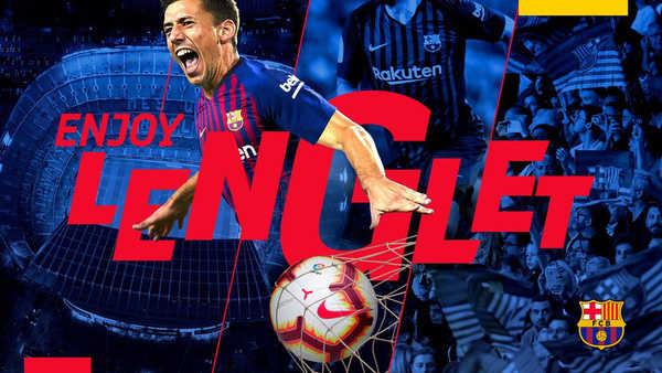 Barca chính thức có được Clement Lenglet