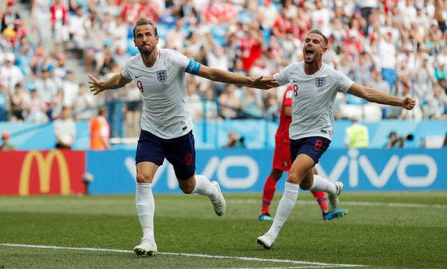 Đội tuyển Anh được đánh giá cao hơn hẳn Colombia