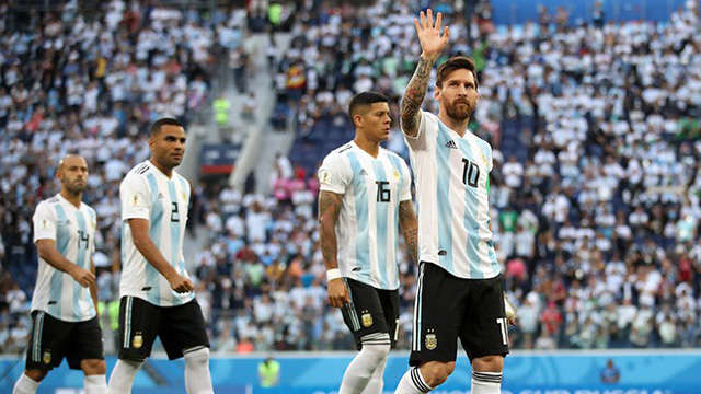 Argentina chia tay World Cup 2018 ngay từ vòng 1/8