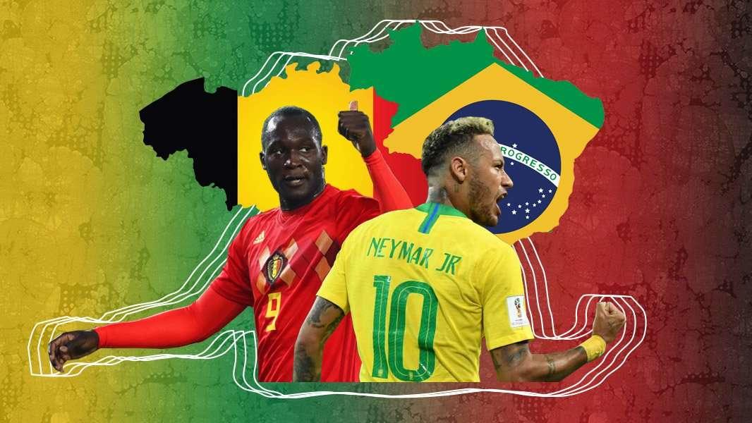 Brazil đấu Bỉ là cuộc chiến của bóng đá tấn công