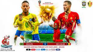 Brazil vs Bỉ: Thủ chắc gặp công mạnh