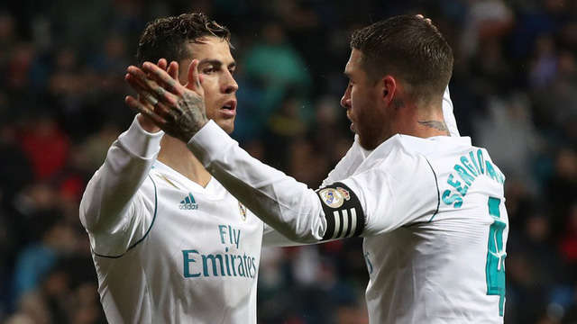 Sergio Ramos nói lời chia tay với C.Ronaldo