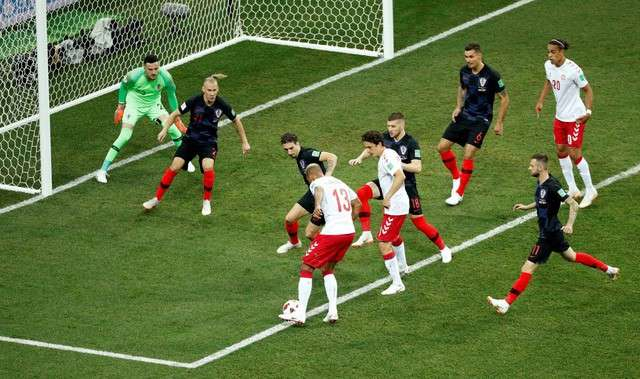 Croatia chơi không đúng phong độ ở trận thắng Đan Mạch
